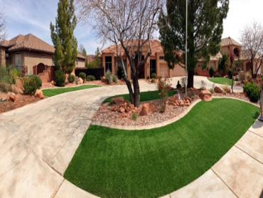 Artificial Grass Installation San Marcos, California Landscaping Business, Front Yard Ideas artificial grass