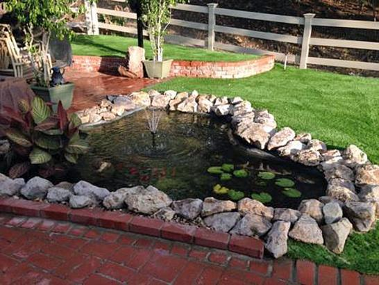 Artificial Grass Photos: Artificial Turf Fallbrook, California Backyard Deck Ideas, Backyard Designs