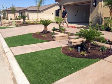 Artificial Grass Photos: Fake Grass Santee, California Landscape Rock, Landscaping Ideas For Front Yard