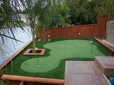 Artificial Grass Photos: Faux Grass Carlsbad, California Putting Green, Beautiful Backyards