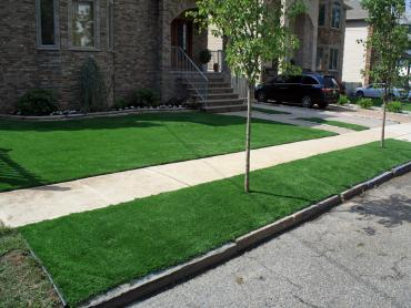 Artificial Grass Photos: Grass Turf Salton City, California Roof Top, Front Yard Landscaping