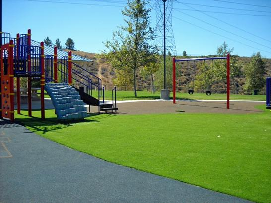 Artificial Grass Photos: Green Lawn Encinitas, California Athletic Playground, Parks
