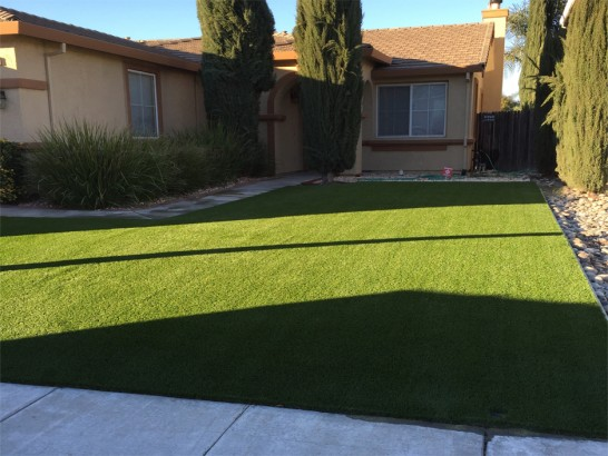 Artificial Grass Photos: Green Lawn Granite Hills, California Backyard Deck Ideas, Front Yard Design
