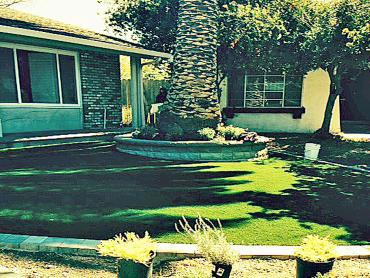 Artificial Grass Photos: Green Lawn Lemon Grove, California Landscape Rock, Front Yard