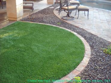 Artificial Grass Photos: How To Install Artificial Grass Casa de Oro-Mount Helix, California Pet Turf, Front Yard Design