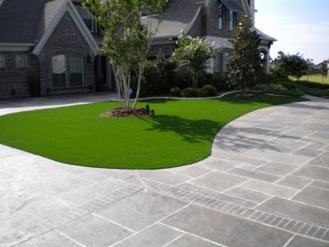 Plastic Grass Hidden Meadows, California Lawns, Front Yard Landscape Ideas artificial grass