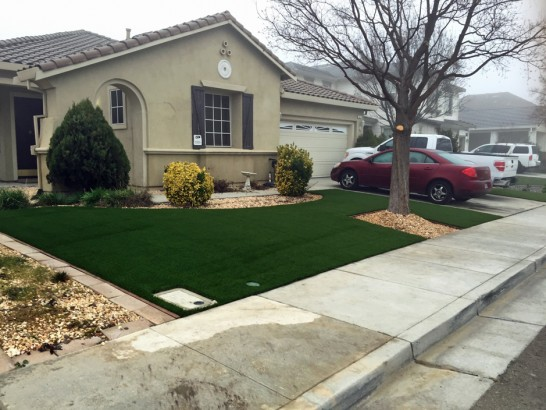 Artificial Grass Photos: Synthetic Turf Supplier Fairbanks Ranch, California Landscape Rock, Front Yard Design
