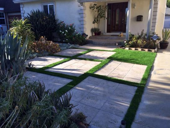 Artificial Grass Photos: Synthetic Turf Supplier San Diego Country Estates, California Roof Top, Front Yard